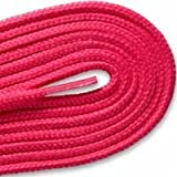 HH-68 ROUND ATHLETIC Neon Pink 72 inch Shoelaces 2 Pair Pack