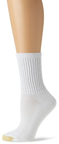 Gold Toe Women's 3-Pack Comfort Crew Athletic Sock
