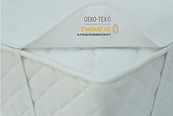60 cm x 120 cm 100/% Cotone Coprimaterasso Allezo