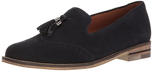 Ara Womens Kay Oxford Blue Suede