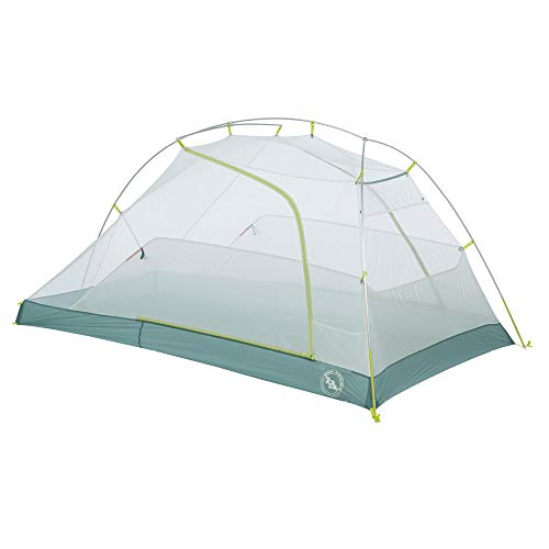 Big Agnes Tiger Wall 2 Platinum Crazylight Backpacking Tent, 2 Person, Gray/Blue ()