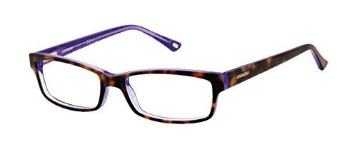 armazones mm 52 gafas anteojos naranja Pattern de violeta Ca6171 Carrera monturas Multicolor BOnxvzH5