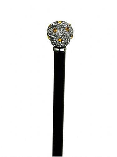 Amazon.com: Unisex Corona Joya Knob caña negro alto brillo ...