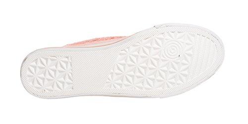Fitters Mujer Lona Con Zapatos Footwear De Cordones 8PwH8vrq