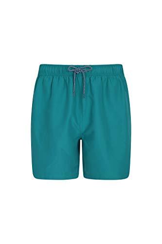 - Mountain Warehouse Aruba Mens Swim Shorts - Beach Swimming Trunks Teal X-Large