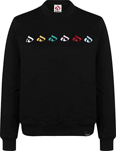 Glyphline Crew Sweater W Iriedaily Nero Oxz00