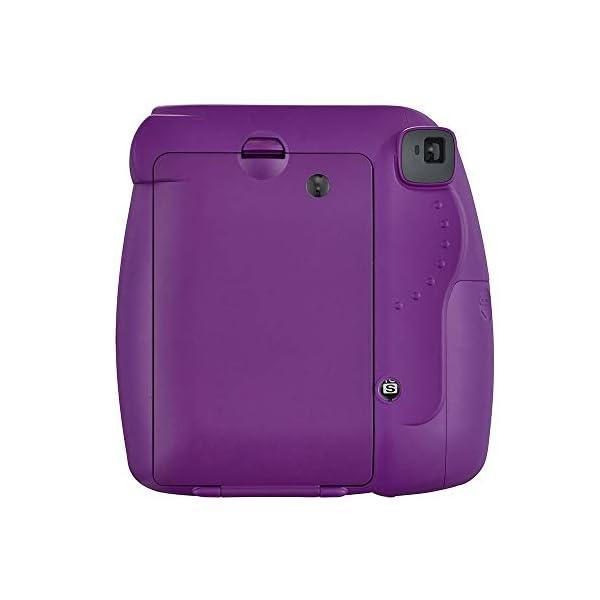 RetinaPix Fujifilm Instax Mini 9 Instant Camera (Clear Purple)