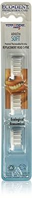 Terradent Soft 31 Toothbrush Head Refill, 3 Count