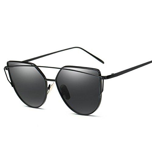 Soleil Sunglasses Couleurs Lunettes Soleil pour Femmes Fashion Metal ZYXCC YANJING Multiples Sunglasses Femmes Cat Jelly pour de Colorées de 6 Lunettes Eye 8qBUxP4