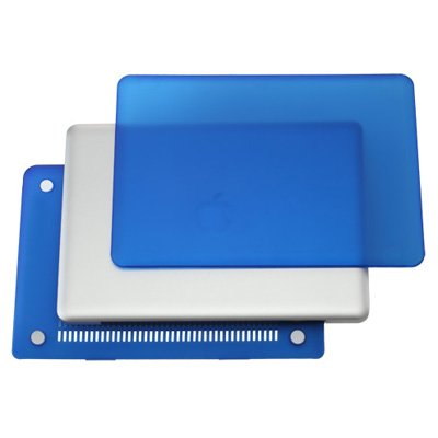 """TOP CASE - 2 in 1 - Ultra Slim Light Weight Rubberized Hard Case Cover and Keyboard Cover for Old Generation Macbook Pro 13-inch 13"""" (A1278/with or without Thunderbolt) - Royal Blue"""