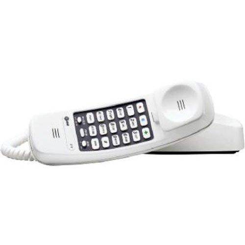 Telephone Set Cord - AT&T 210M Trimline Corded Phone, 1 Handset, White