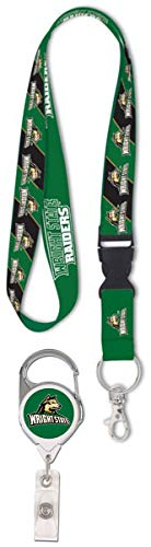 WinCraft Bundle 2 Items: Wright State University 1 Lanyard and 1 Premium Badge Reel Id Holder by WinCraft (Image #3)