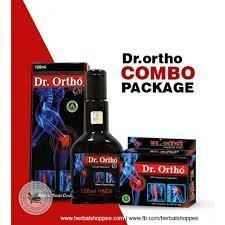 Dr. Ortho Joint Pain Oil (120 Ml) & Ayurvedic Capsules (30 Capsules) Combo Offer - Styledivahub®