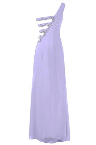 Pageant Sunvary Viola l'autunno per elegante a One lungo Gowns Vestito sera da 0pqO0wF