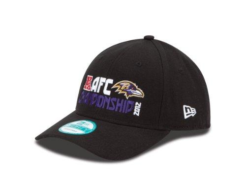 NFL Baltimore Ravens 2012 AFC Conference Champs Hat, Black