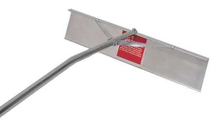 Roof Rake, 22 In, Aluminum by MIDWEST RAKE CO