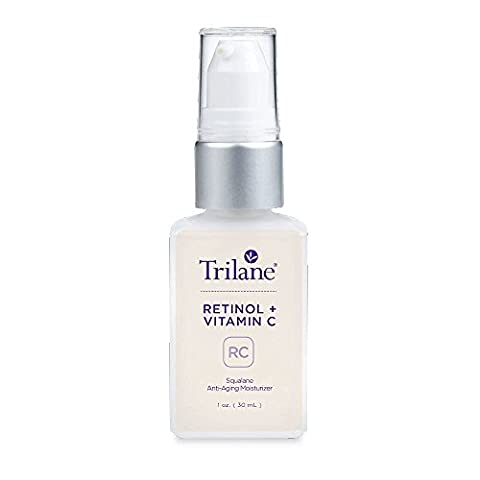 Dr. Tabor's Trilane Retinol + Vitamin C, 1 Bottle (1 fl. oz.) Visibly Reduces the Signs of Aging for Softer, Luminous, Brighter Skin with Zero (Healthy Directions)
