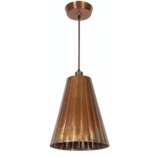 Kenroy Home Kenroy Home 93018FCOP Flute 1 -Light Pendant