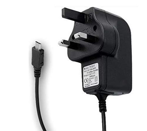 TIS (TM Compatible Mains Charger for Various TTFone/TTSims Mobile Phone Models (TTfone Astro TT450)