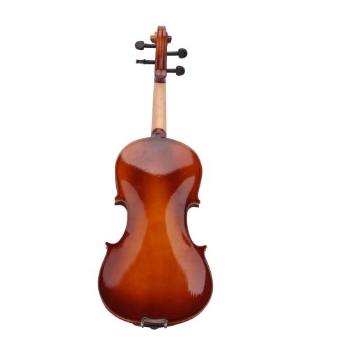 Lovinland 4/4 Acoustic Violin Natural Color Beginner Violin Full Size with Case Bow Rosin by Lovinland (Image #2)