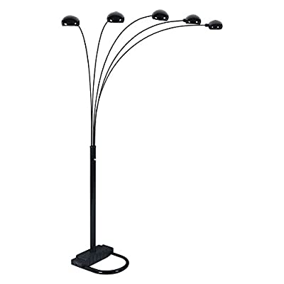 Milton Greens Solomon Arc Floor Lamp