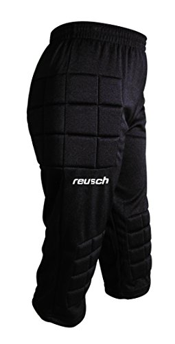 Reusch Alex Breezer Knicker(3/4 Goalkeeper Pant) - Youth Large,Black