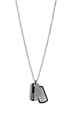 FOSSIL-Kette-JF00494998-Edelstahl-silber-schwarz
