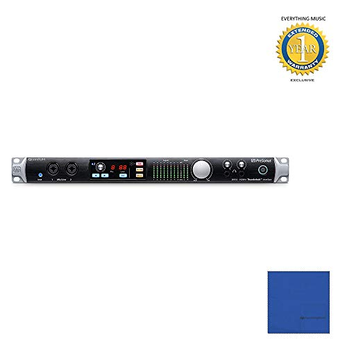 (PreSonus Quantum 26x32 Thunderbolt Audio Interface/Studio Command Center with Microfiber and 1 Year Everything Music Extended)