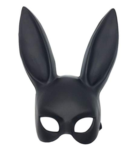 Halloween Masquerade Rabbit Mask Costume Cosplay Bunny Mask -