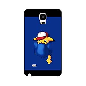 Samsung Galaxy Note 4 Characteristic Lovely Style Anime Pockat Monster Role Cover Case for Samsung Galaxy Note 4 Great Charming Endearing Pockat Monster Phone Case