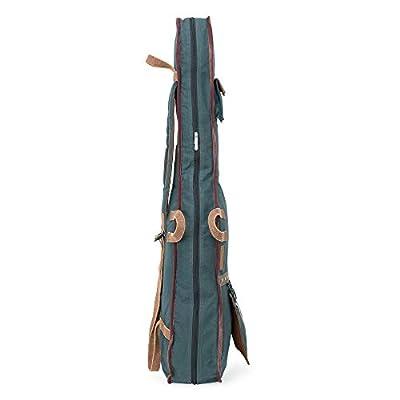 The House of Tara - Combat Blue Canvas Fabric Acoustic Guitar Bag 5