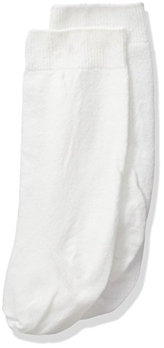 (Jefferies Socks Little Girls'   High Class Knee High  (Pack of 3), White, Toddler)