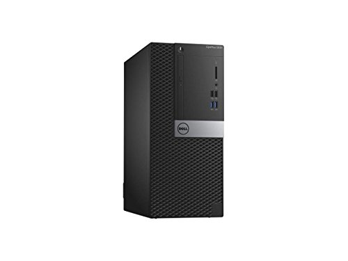 Pc Desktop Workstation (2018 DELL OptiPlex 5050 Mini Tower Business Workstations Desktop Computer, Intel Core i5-7500 up to 3.8GHz, 8GB DDR4 RAM, 256GB SSD, GigE, DVD, USB 3.1, HDMI, Wired KB & Mouse, Windows 10 Professional)