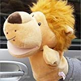 Gold Happy Children Animal Hand Puppet Toys Classic Kawaii Children Hand Puppet Novelty Cute Dog Monkey Lion Muppet
