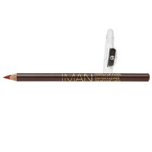 IMAN Perfect Lip Pencil, Passion, 0.05 oz 0.05 Ounce Lip Liner