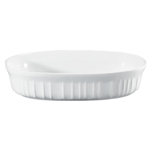 CORNINGWARE French White 15-oz Oval Casserole