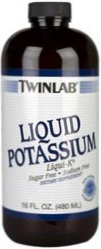 TwinLab - Liqui-K (potassium liquide), 99 mg, liquide 16 fl oz
