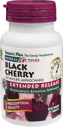 Cherry 30 Tabs - Extended Release Black Cherry Nature's Plus 30 Tabs