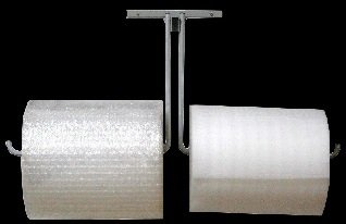 [해외]12 더블 암 벽 마운트 버블 랩 ® & amp; /12  Double Arm Wall Mount Bubble Wrap® & Foam Cushioning Roll Dispenser