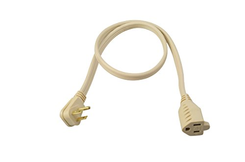 Coleman Cable 3531 14/3 General-Use Appliance Extension Cord, 3-Foot