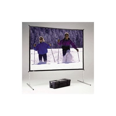 Fast Fold Deluxe Portable Projection Screen Viewing Area: 9' H x 12' W 12' Fast Fold Drapery