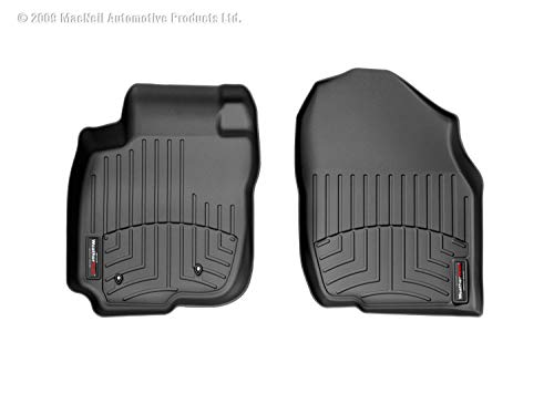 WeatherTech Custom Fit Front FloorLiner for Toyota RAV4 (Black)