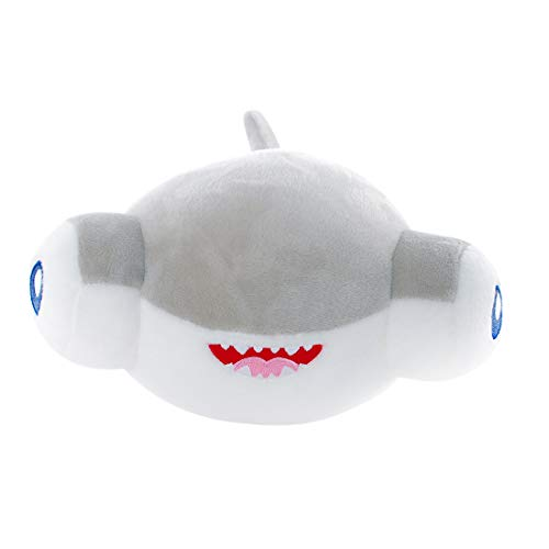 KJ Hammerhead Shark, Hammerhead Shark Plush, Hammerhead Shark Toy for Kids and Adult Gifts or Accompanying Friend for Boys and Girls, Grey, 8