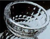 - Grainware Tranquility Geometric Candy & Nut Bowl Size: 10