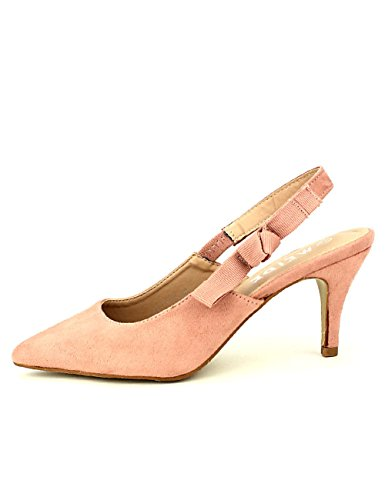 Brtuxwwqy Escarpin Femme Cendriyon Pointu Weide Chaussures Rose wp01qqxY