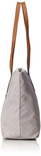 Joop! Nylon Cornflower Helena Shopper Lhz, Borsa a spalla Donna, Grigio (Light Grey), 15x30x49 cm (B x H x T)