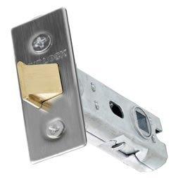 Gridlock 51.01 Tubular latch backset - 57mm - Polished brass effect by Gridlock ()