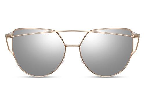 Aoligei Lunettes de soleil femme en Europe et les États-Unis à pied montrent le même style de lunettes de soleil personnalité lunettes mode N87gEh68d