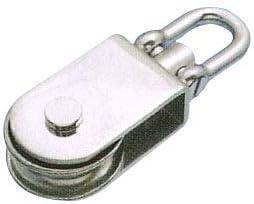 水本機械 ステンレス金具 サンマブロック(沈みシャックルタイプ)1個価格 HK-75