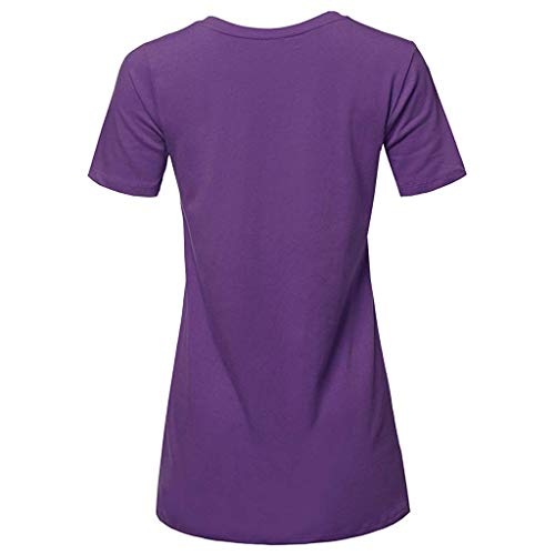 HTDBKDBK Men Summer Casual Fashion Popular It Letter Printing Tees Shirt Short Sleeve T Shirt Blouse Tee